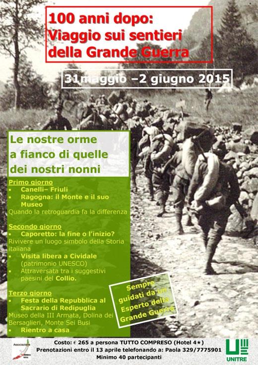 Sui sentieri della Grande Guerra.